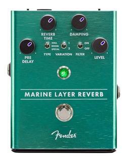 Pedal Efecto Fender Marine Layer Reverb Para Guitarra Cuotas