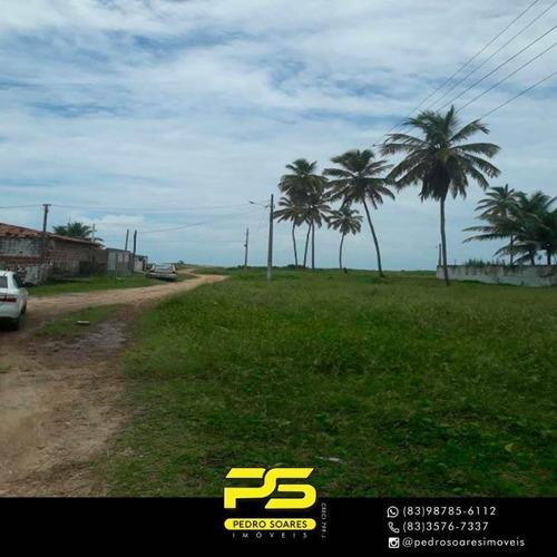 Imagem 1 de 3 de Terreno À Venda, 360 M² Por R$ 68.000 - Centro - Lucena/pb - Te0137