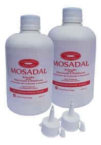 Mosadal, Emoliente Pedicure - Manicure - 2 Unidades 500ml