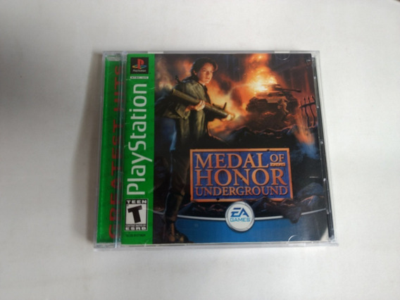 Medal Of Honor 2 Underground Original Completo Psone