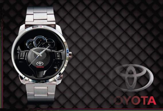 Relógio De Pulso Personalizado Painel Yaris - Cod.tyrp014