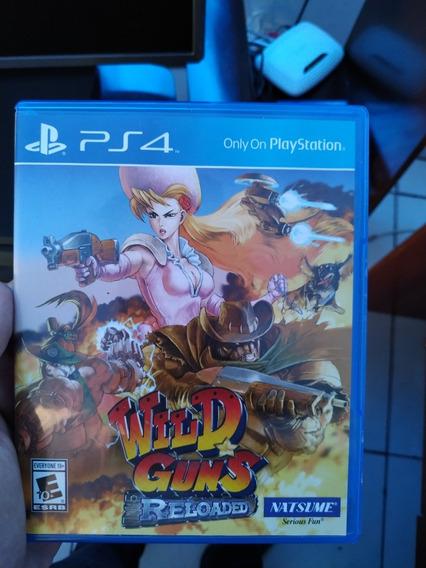 Wild Guns Ps4 Novo