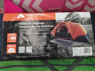 Casa Campaña Premium Para 8 Personas Ozark Trail