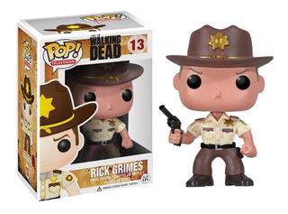 Muñeco Funko Pop Original Walking Dead Rick Grimes Outlet