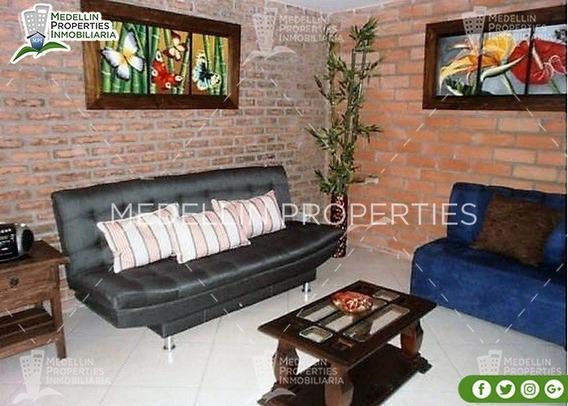 Apartamentos Y Casas Amobladas Por Dias En Envigado Cód:4099