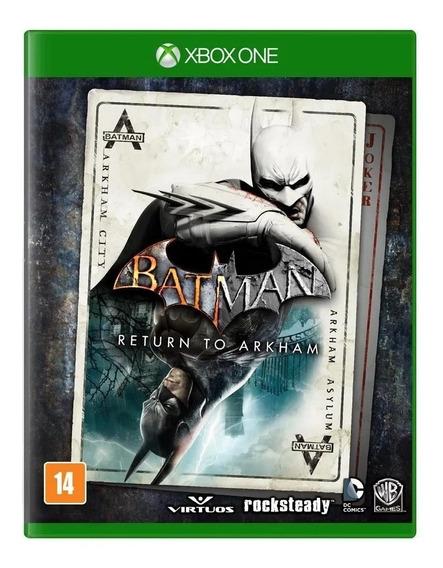 Batman Return To Arkham - Xbox One - Midia Física - Novo