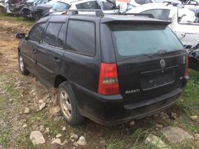 Sucata Volkswagem Parati 2004 1.0 16v Turbo Rs Peças