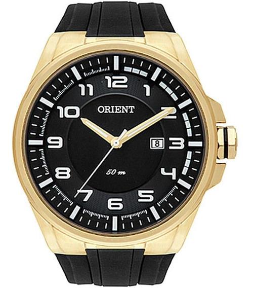 Relógio Masculino Orient Analógico Mgsp1003 P2px - Dourado