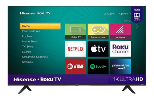 "Smart TV Hisense R6 Series 50R6E3 LED 4K 50"" 120V"