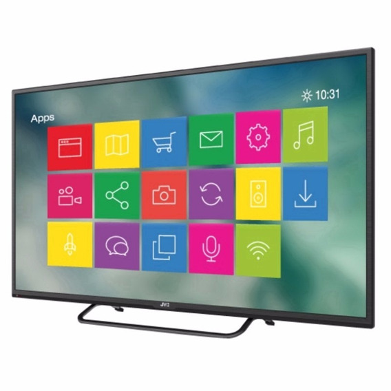 Tv Jvc 50 Android**air Mouse/wi-fi/3hdmi/ 1gb Ram