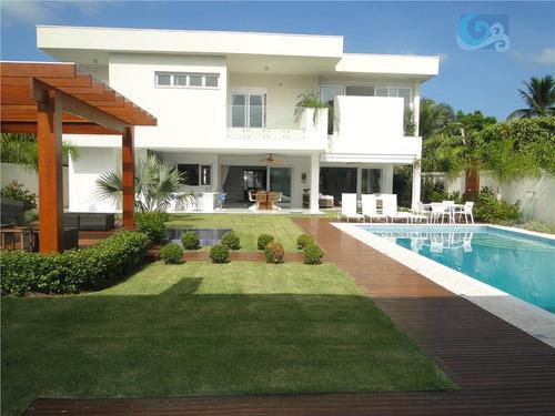 Imagem 1 de 30 de Casa À Venda, Condomínio Jardim Acapulco - Guarujá - Ca1408