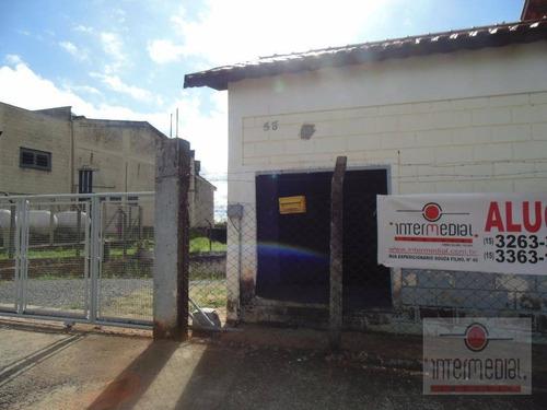 Galpão À Venda, 916 M² - Área Industrial - Boituva/sp - Ga0077