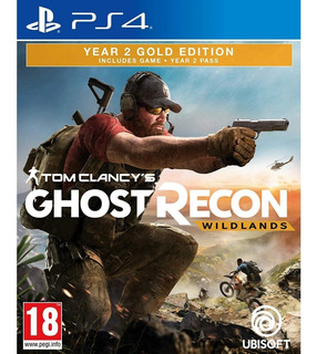 Tom Clancys Ghost Recon Wildlands Year 2 Gold Edition Ps4