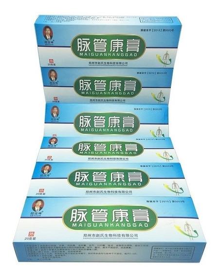 5 Pomadas Creme Varizes Pernas Vasinhos Maiguankanggao 20g