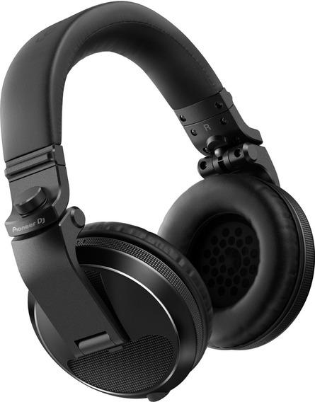 Fone De Ouvido Pioneer Dj Headphone Hdj X5 Preto Hdj-x5-k Dj