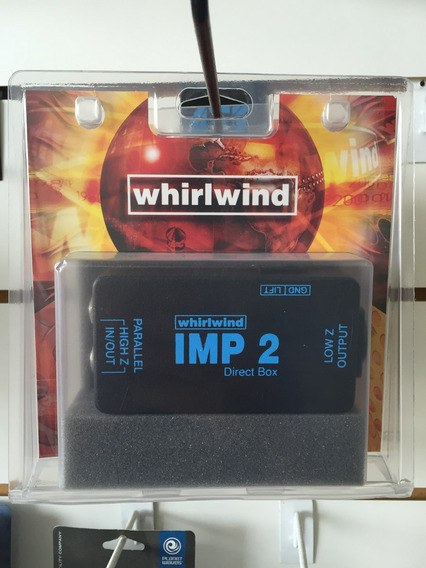 Direct Box Passivo Whirlwind Imp2 Original Garantia 3 Meses