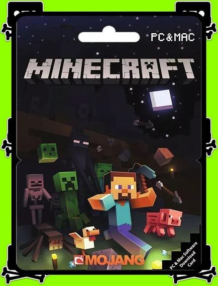 Minecraft Java Edition Pc - 100% Original (mojang Key)