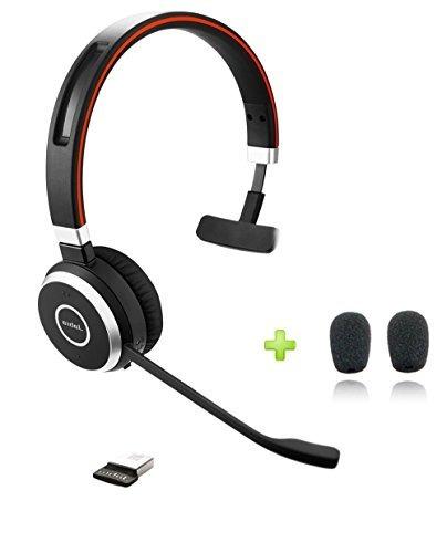 Jabra Evolve 65 Bluetooth Uc Mono Auricular Bundle | Bonus M