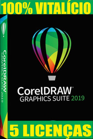 Corel Draw 2019 05 Chaves (superior Ao X7 X8 X9 2018)