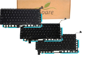 Teclado Macbook Pro 13 15 17 Backlight Americano