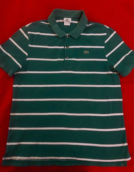 Playera Lacoste 100% Original Tipo Polo Talla L/ No Tommy