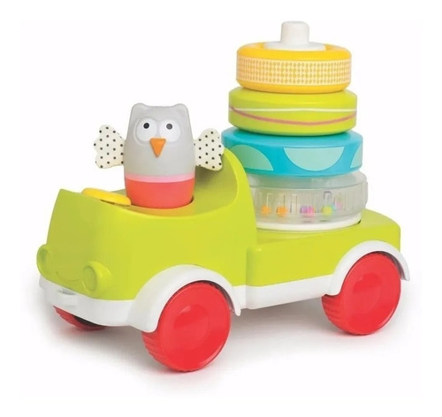 Tractor Juguete Apilable Taf Toys Crawl & Stack