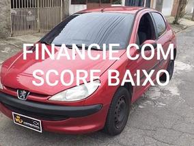 Peugeot 206 Financie Com Score Baixo Entrada 1500