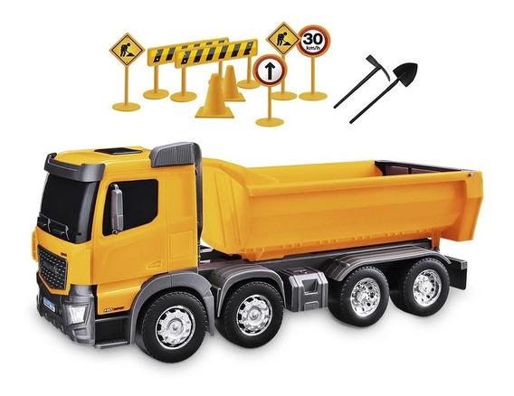 Juguete Niño Camion Construccion De Volteo Usual Brinquedos