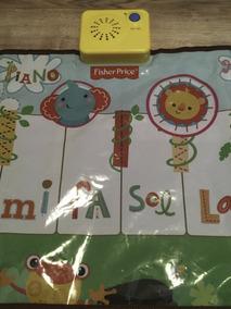 Tapete Piano Dancante Fisher Price - Interativo C Jogo