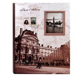 Album Monumentos Com Visor P/200 Fotos 10x15 Cm