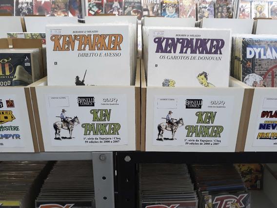 Ken Parker - Cluq - Várias Edições - Tutatis