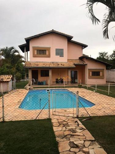 Chácara Com 3 Dormitórios À Venda, 1000 M² Por R$ 850.000,00 - Condomínio Santa Inês - Itu/sp - Ch0118