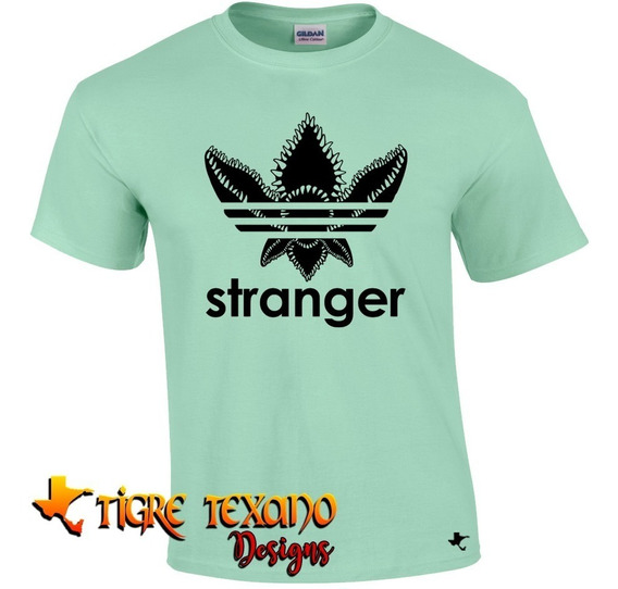 Playera Series Stranger Things Mod 04 Tigre Texano Designs