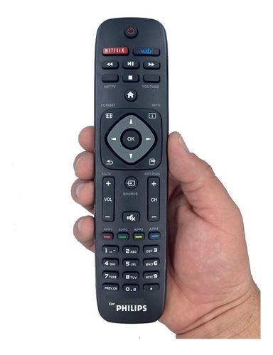 Imagen 1 de 1 de Control Remoto Phillips Smart Con Netflix + Pilas