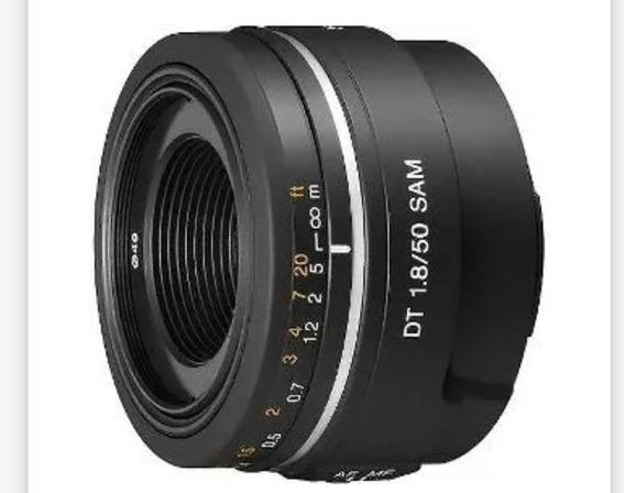 Sony 50mm 1.8 Fixa Amount