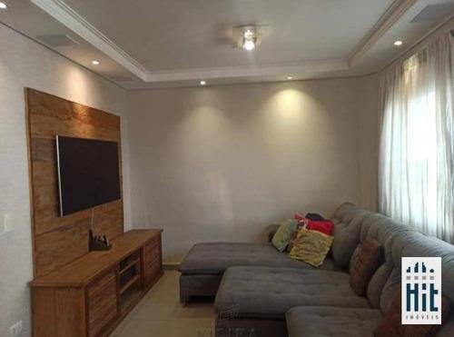Sobrado Com 3 Dormitórios À Venda, 113 M² Por R$ 850.000,00 - Vila Santa Catarina - São Paulo/sp - So0532