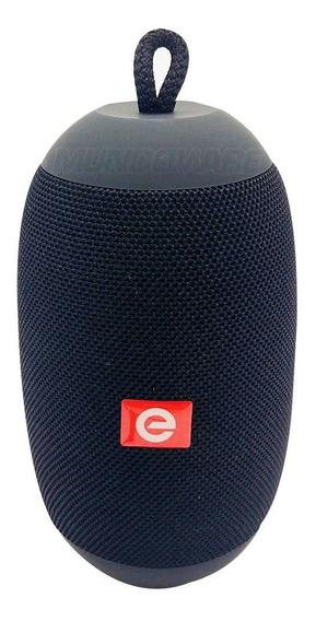 Caixa De Som Bluetooth Com Tws Usb Sd Rádio Fm E Mic Preta