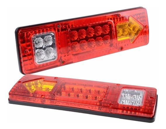 Faro Trasero Led Camion Acoplado 24v Kit X2
