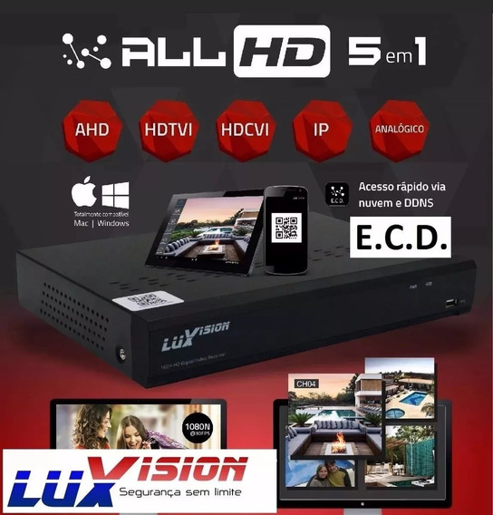 Dvr Hvr Gravador 8 Ch Stand Alone Ecd Full Hd Lux Vision