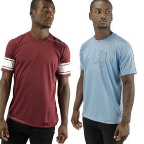 Kit 2 Camiseta Básica Casual Unissex Roupa Estilo Tumblr