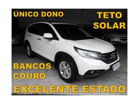 Honda Cr-v 2.0 Exl 4x2 Flex Aut.*2014*único Dono*teto Solar