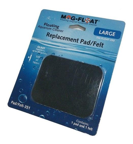 Refil Feltro Pad Felt Limpador Mag. Large Mag-float F-350