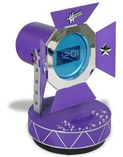 Bocina Hannah Montana Para iPod Mp3 Reloj Alarma Disney
