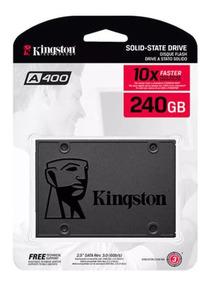 Hd Ssd Kingston 240gb Ssdnow A400 Sata 3 6gb/s 500mb/s