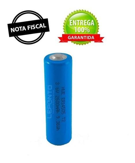 Bateria De Lithium Er14505 Aa 3.6v 2600mah Bastão Vigia