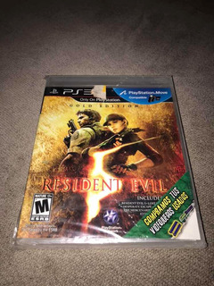 Resident Evil 5 Gold Edition Para Ps3!!! -new-