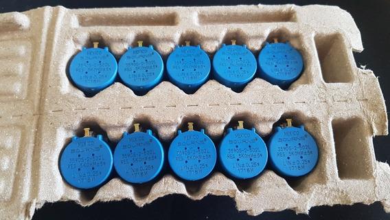 Potenciômetro Bourns 3590s 5k Kit C/10 Peças 3590s-2-502l