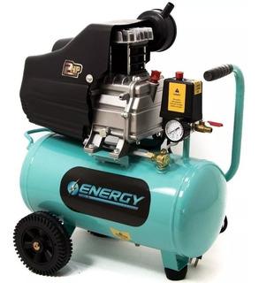 Compresor De Aire 2 Hp 18 Litros Energy Mando Directo 1450 W