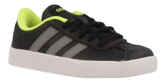 Tenis adidas Advantage Negro/gris/blanco Niños Db1511