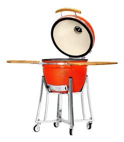 Grillcorp - Kamado Mediano - Naranja
